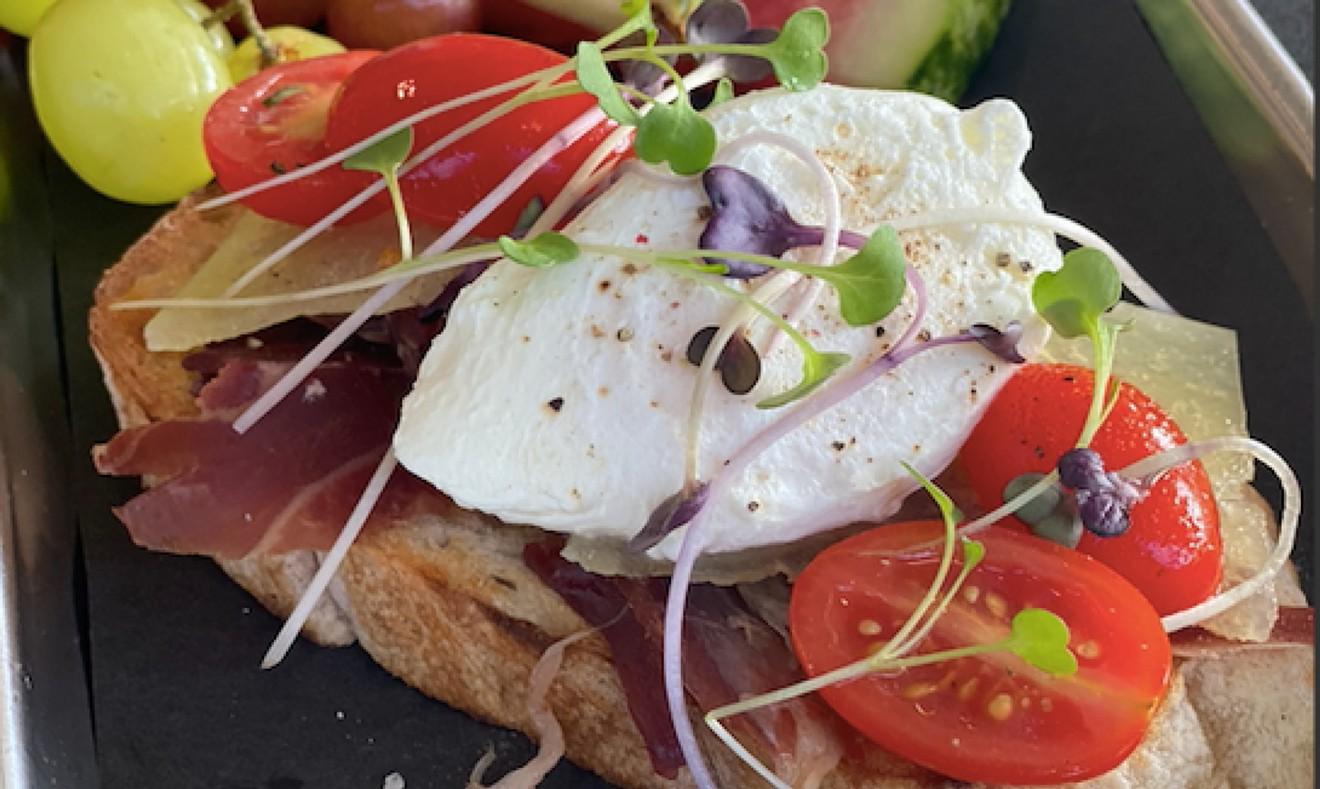 Toast at Mi Vida on Tybee Island