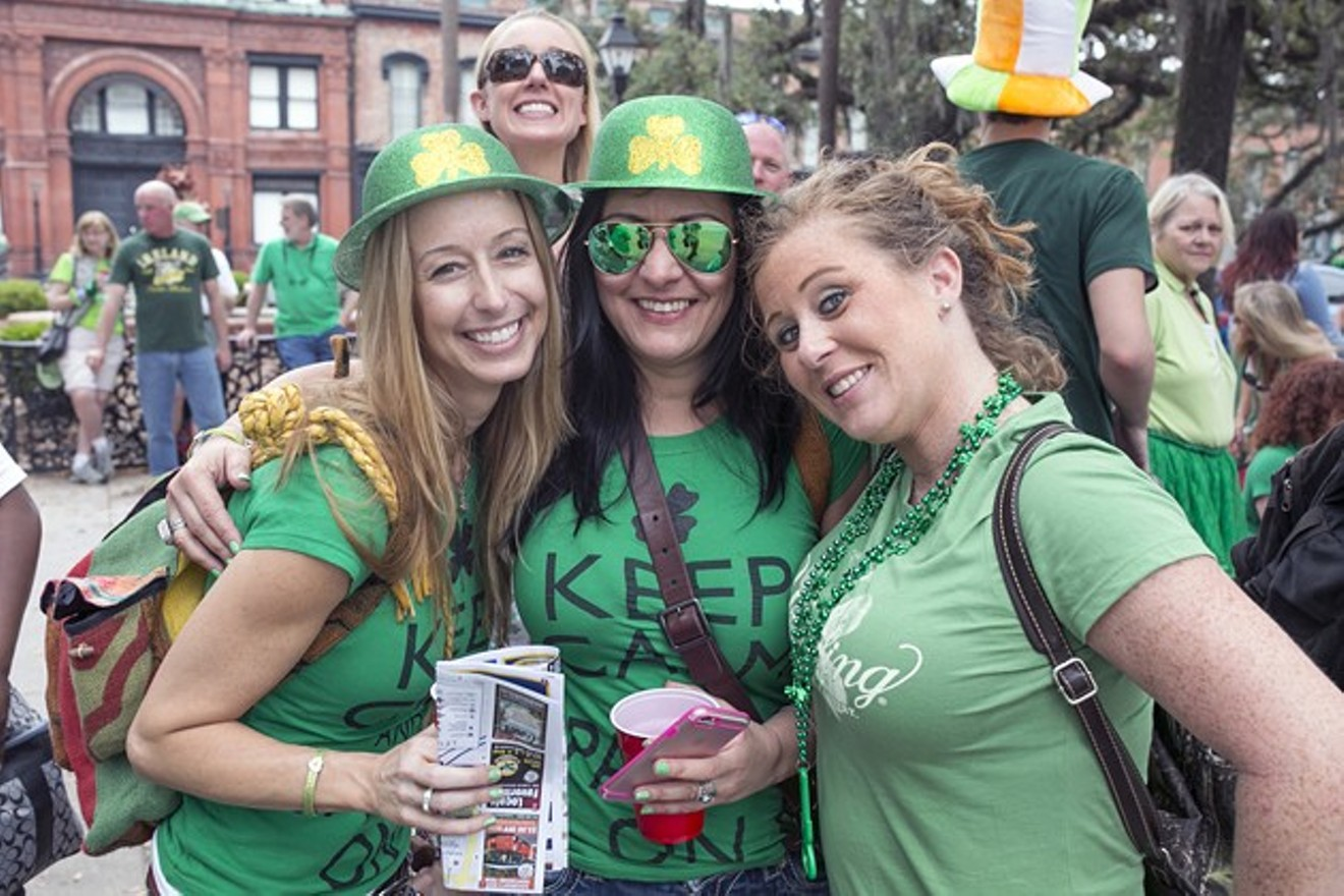 Savannah Saint Patrick's Day Parade 2016