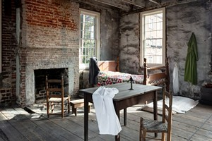 The restored slave quarters. - PHOTO BY JEREMIAH HULL