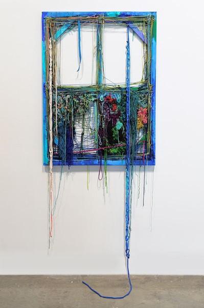 "Sonya Yong James, ""Blue Night Window."""