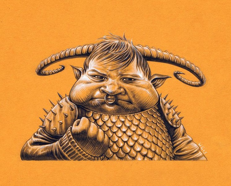 """""""Success Demon Kid"""" by Ugis Berzins."""