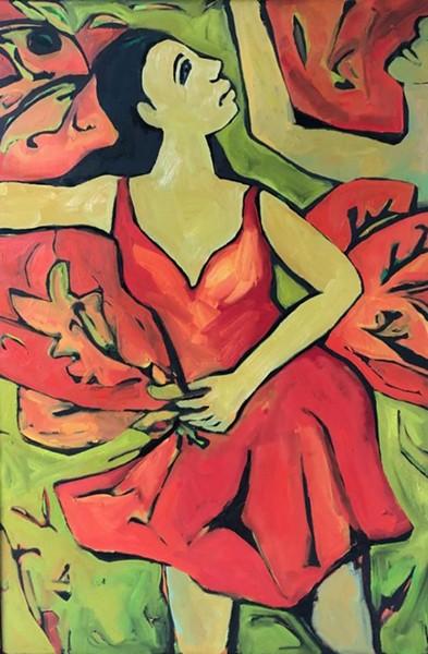 """""""Cumbia Dance"""" by Kim Corcoran."""