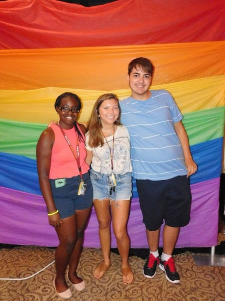 Find your folks at your campus gay/straight alliance and let the fun begin—but don't forget to study! - PHOTO COURTESY OF ARMSTRONG GSA