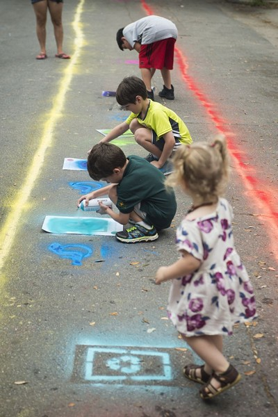 The First Friday Art Marches are a great and fun way to get involved.