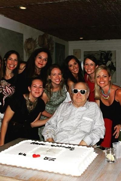 "A few members of ""Zarem's Harem"" celebrate the 80th birthday of the PR legend."