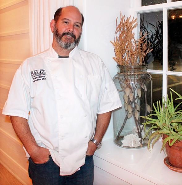 Chef Dusty Grove