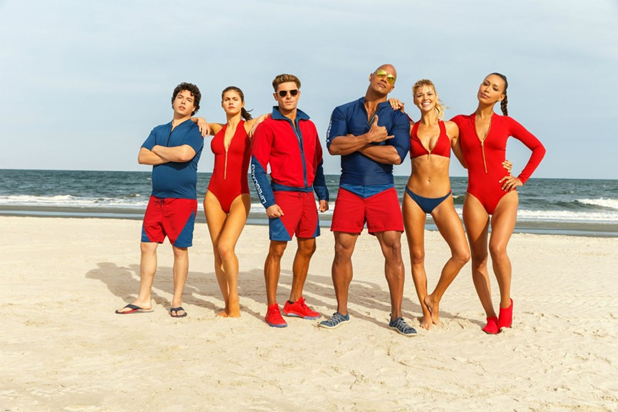 "Cast of the film ""Baywatch"""