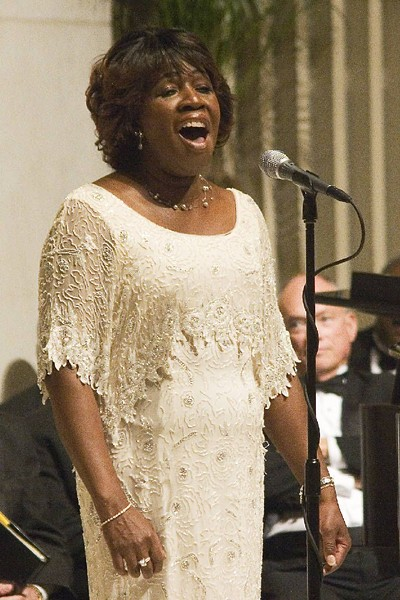 ABOVE: DeVonne Gardner sang at the original Second Sacred Concert with Duke Ellington when she was just 16 years old.