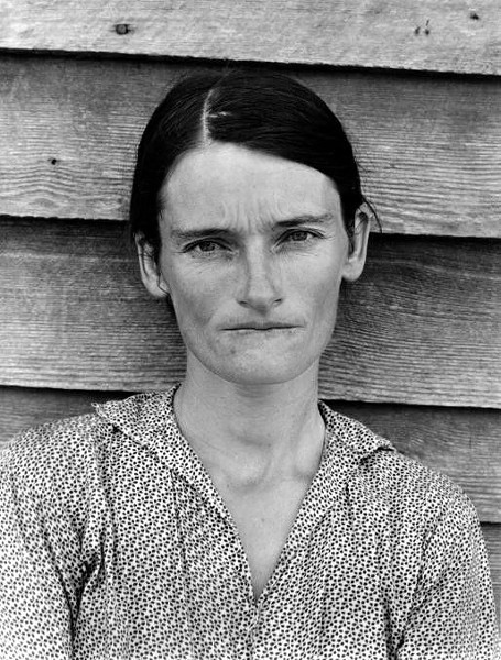 """Tenant Famer's Wife, Alabama,"" Evans, 1936."