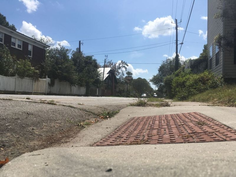 """Through Ardsley in Motion, an initiative launched by Ardsley Park Chatham Crescent Neighborhood Association President Nick Palumbo, volunteers are taking a """"street-level"""" look at the condition of streets, sidewalks, crosswalks, and bike lanes in their neighborhood."""