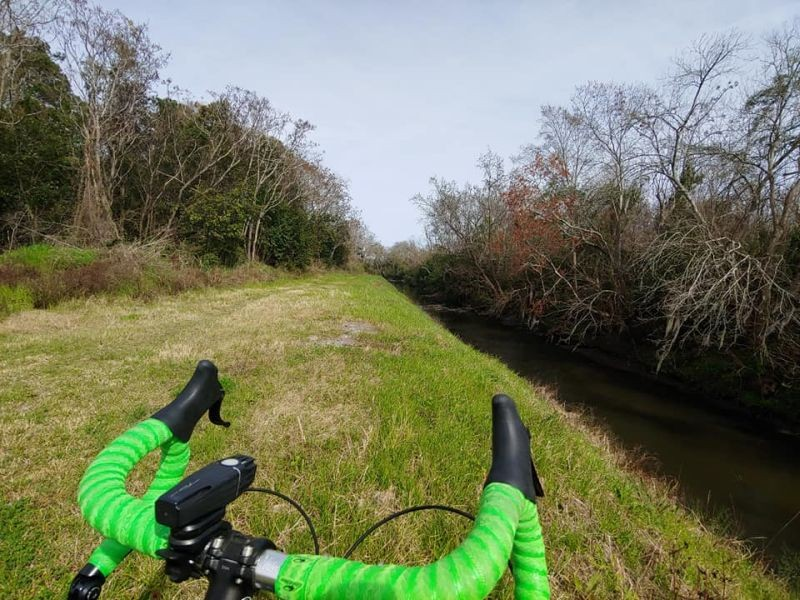 The Tide to Town trail network proposes to use canal banks and other public right of way to link Savannah neighborhoods. The network will serve provide not just recreation, but will also serve a critical transportation function. Photo by Brent Buice.