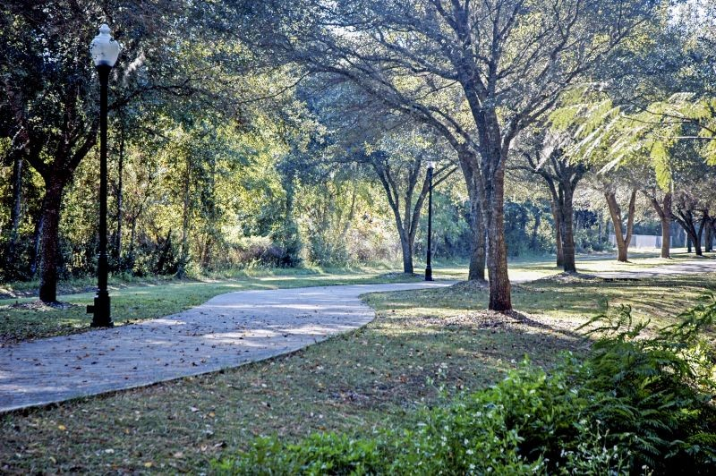 The Riverwalk Trail in Woodbine, Georgia. Camden County has emerged as a leader in trail development on the Georgia Coast. - PHOTO COURTESY CITY OF WOODBINE