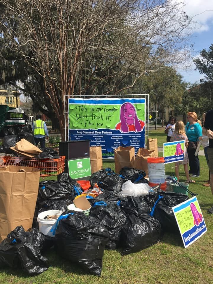 The results of 2019 Great Savannah Cleanup