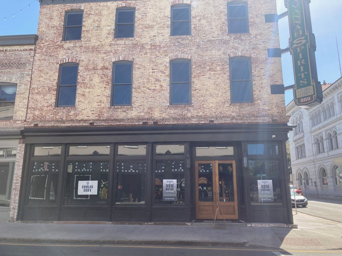 The building at 120 Whitaker St. will house New Realm Brewing by late April. The venue is a three-story building, and is the former site of Savannah Spirits.