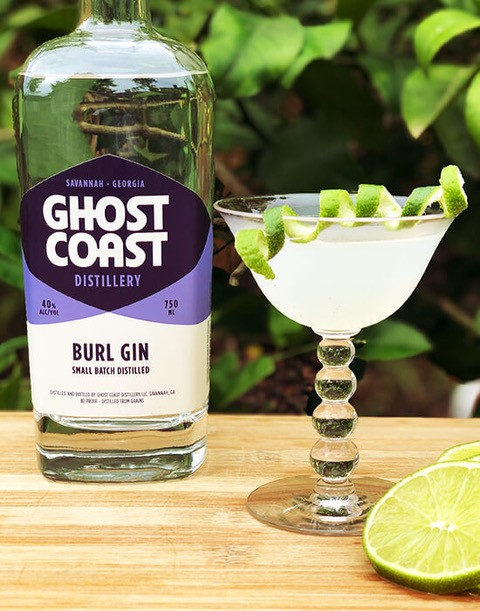 Ghost Coast Distillery's most popular spirit, Burl Gin was awarded a Gold medal, 93 points, by the Beverage Testing Institute.