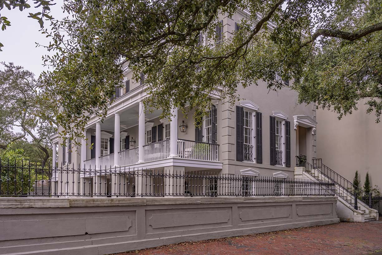 The building at 223 E. Jones St. was built in 1866 as a single-family residence. Since then, it has served numerous purposes, including an orphanage, a dormitory and apartments. The Caldwell family purchased and restored the property, which won a Historic Preservation Award in 2019.