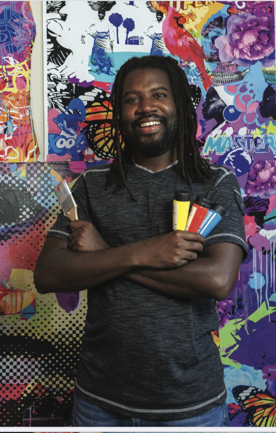 Amiri Geuka Farris will be the featured artist at Grand Bohemian Gallery at The Mansion on Forsyth Park from June 10 through July 9.