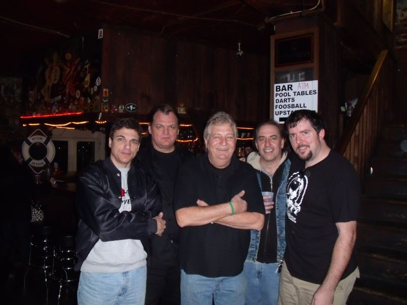 Above L-R: Mark Vaquer, Greg Williams, Jerry Zambito, Paul Cooper and Thomas Claxton. Photos courtesy of Thomas Claxton