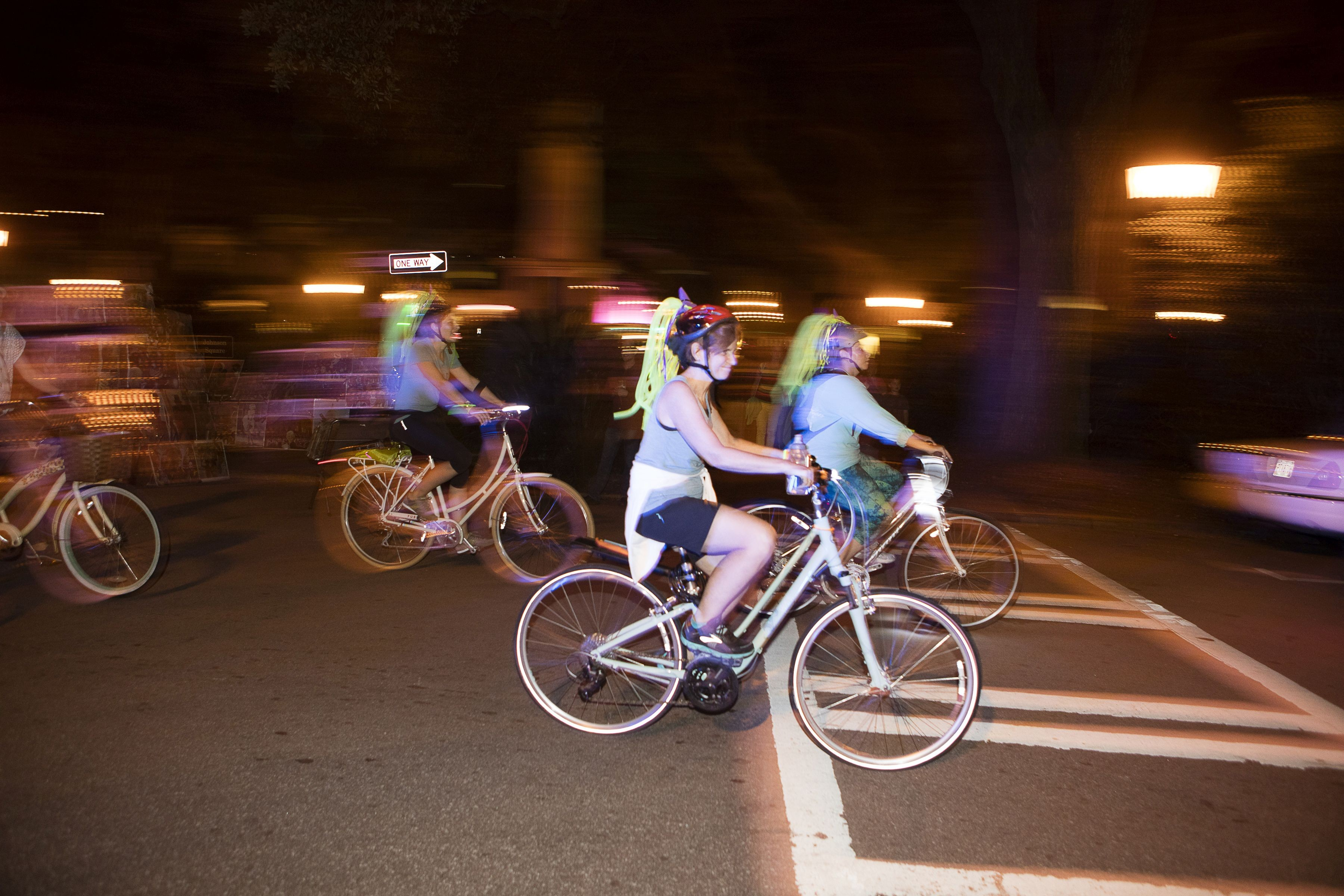 Rescheduled Midnight Garden Ride goes Bananas   Community   Savannah ...