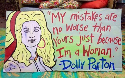Work by local artist Panhandle Slim