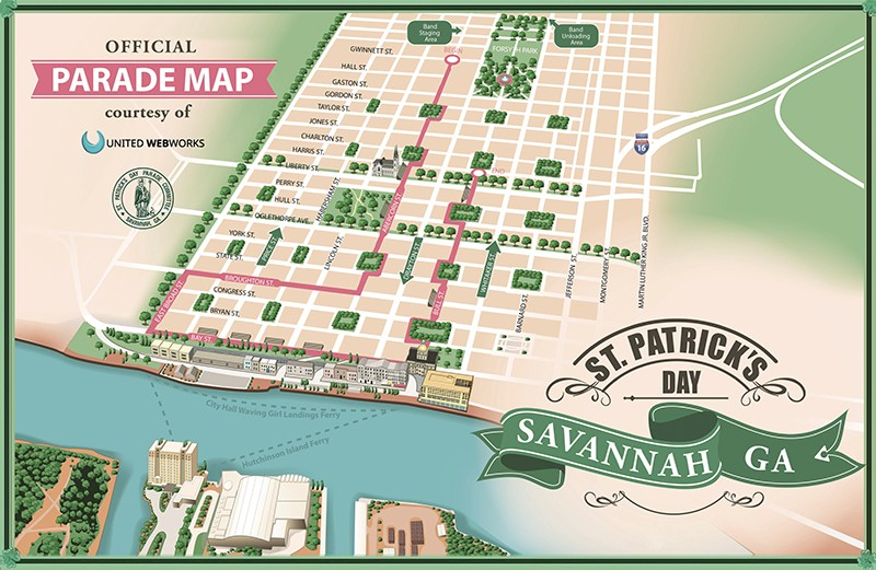 The St Patricks Day Parade and how to get there and back