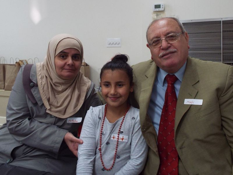 Mayada, Farah and Naji Abousaleh of Syria recently resettled in Savannah after living for years in Turkey.