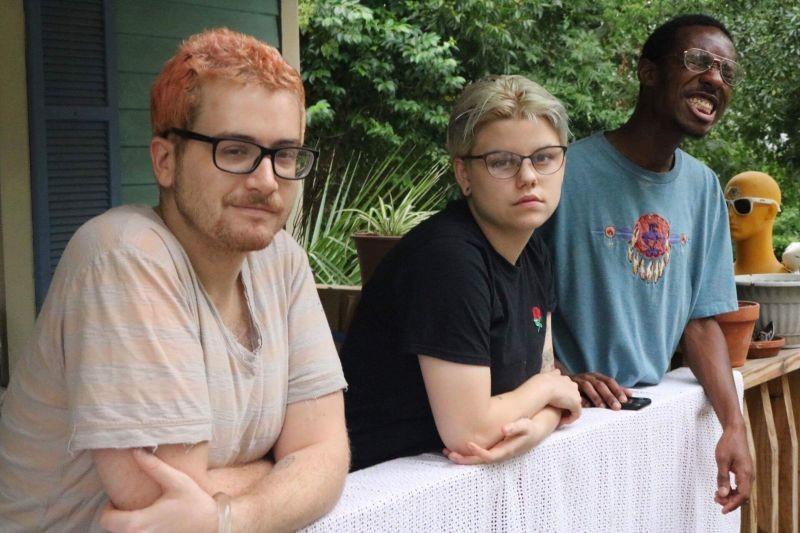 Greg Hornak, Savannah Shearouse and Christian Deveaux. - ALEC LAWRENCE