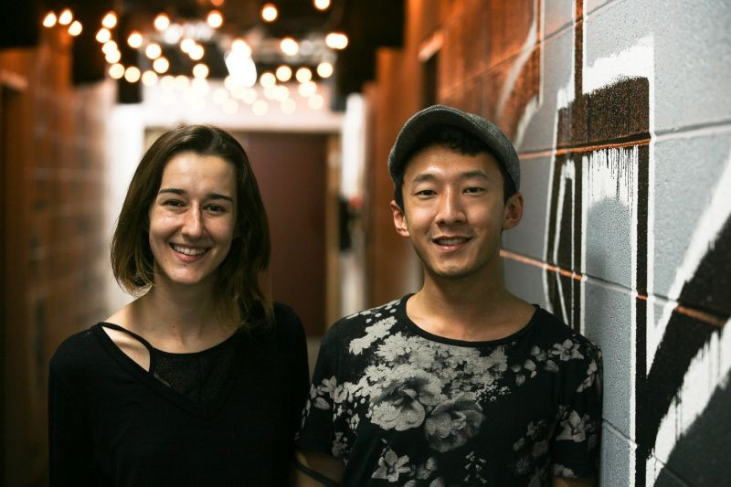 Darby Cox and Sean Geng - JON WAITS/@JWAITSPHOTO