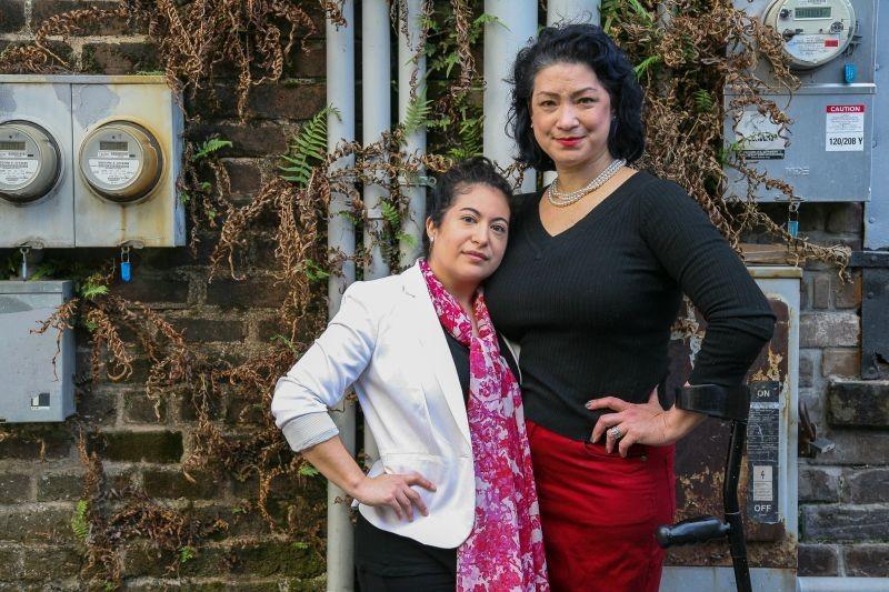 Valerie Lavelle and JinHi Soucy Rand. - JON WAITS | @JWAITSPHOTO