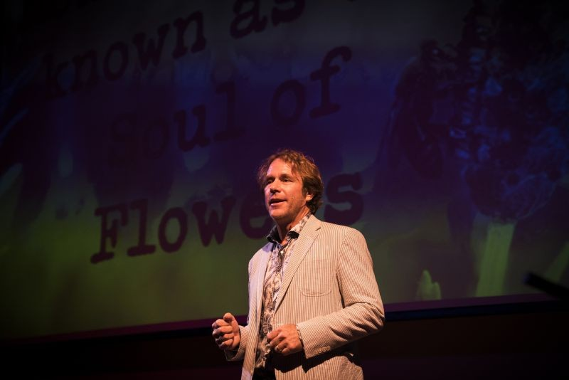 Savannah Bee's founder Ted Dennard at - TEDx 2017.