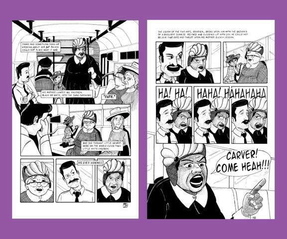 Tim Taylor's comic strip
