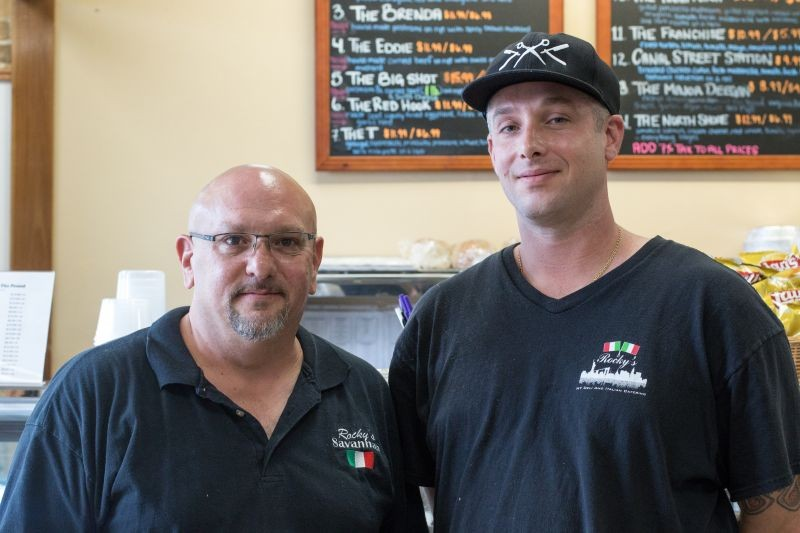 Owner Bill Vissicchio and Chef Nick Camman.