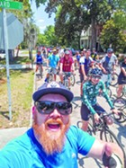 A ride organized by Brent Buice, South Carolina Georgia coordinator for the East Coast Greenway Alliance and a board member of Tide to Town, attracted 70 participants on a sweltering Saturday earlier this month, highlighting the growing interest in trails.