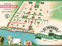The Savannah St. Patrick's Day Parade