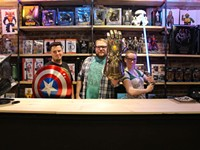 Geeks rejoice at Odin and Sons