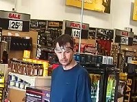 Suspect sought in Northern Tools shoplifting