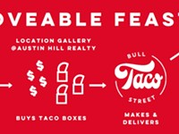 Location Gallery partners with Bull Street Taco to sell art, feed nurses