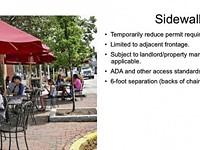 Savannah set to expand  sidewalk dining options