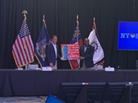 'We all have to come together': Cuomo, Johnson announce partnership in COVID-19 relief