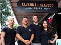 Savannah Seafood Shack and Below Zero Rolled Ice Cream are a family project on Broughton