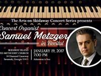 Concert Organist Samuel Metzger in Recital @Skidaway Island UMC