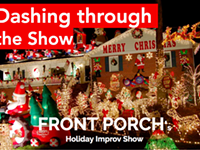Dashing Through the Show with Front Porch Improv