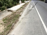 Savannah's drought of bicycle infrastructure projects