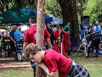 Tossing up a ton o'fun at the Scottish Games