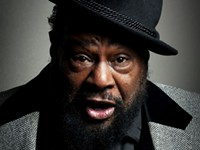 George Clinton: tearing the roof off The Stage on Bay