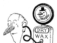 Why is Asian earwax different from black and white people's earwax?