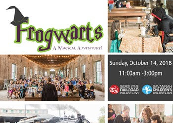 'Frogwarts' set for October 14 at Georgia State Railroad Museum