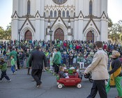 Savannah Saint Patrick's Day Parade 2017