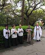 "2018 ""Stations"" or Way of the Cross observed on Madison Square - Uploaded by CoastalMamma"