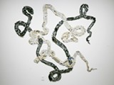 Pam Longobardi, Newer Laocoon (voice of warning), 2015, ocean plastic from Greece, California, Alaska, Hawaii, and Costa Rica
